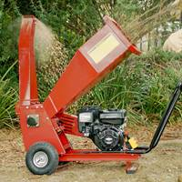 wood chipper assembly video